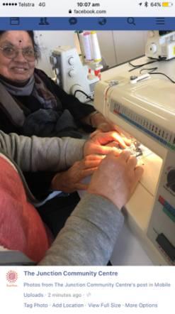 amma sewing