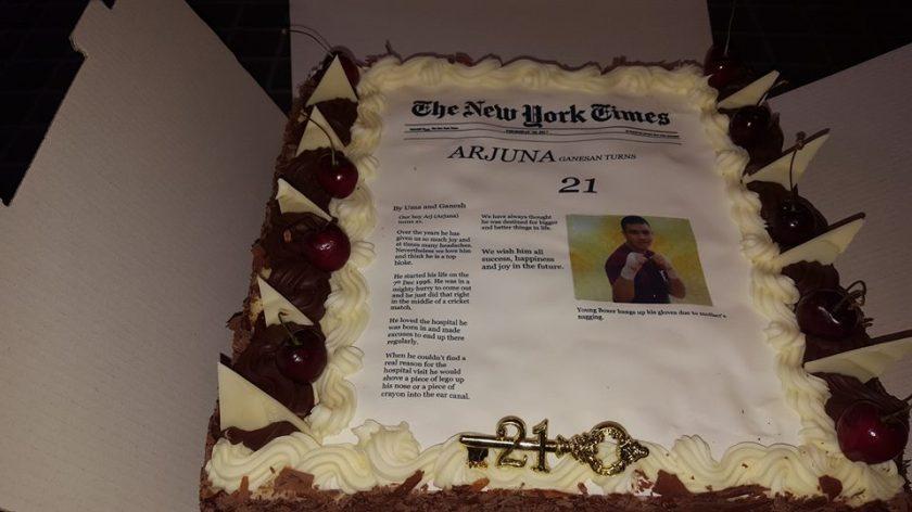 arj cake