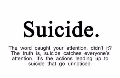 suicide attention